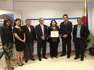 IMG 5417 300x225 Sprott Shaw awards scholarship to woman who lost family in Typhoon