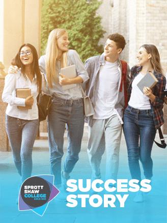 sprott shaw success story