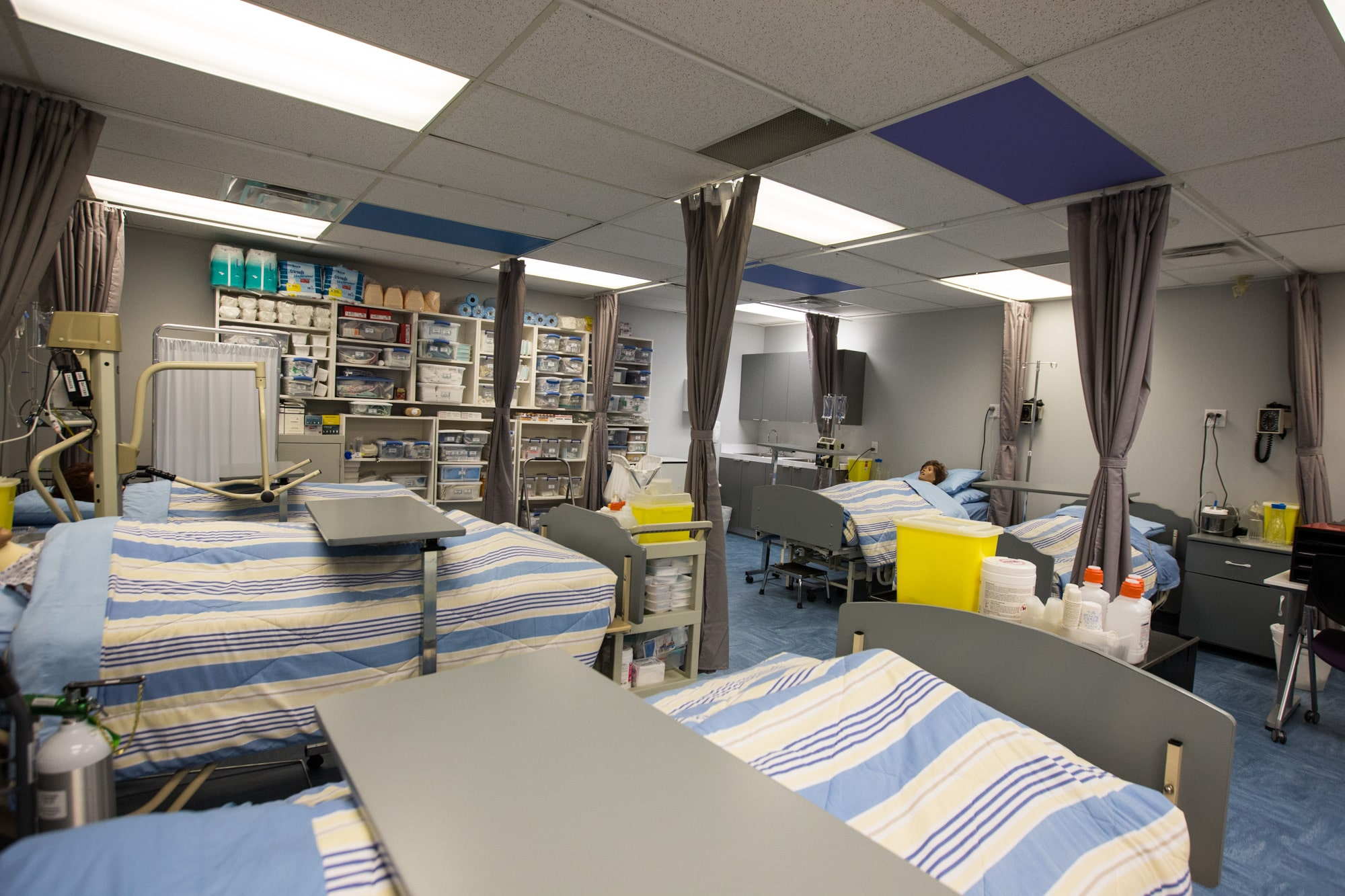 sprott shaw college new westminster campus practical nursing lab