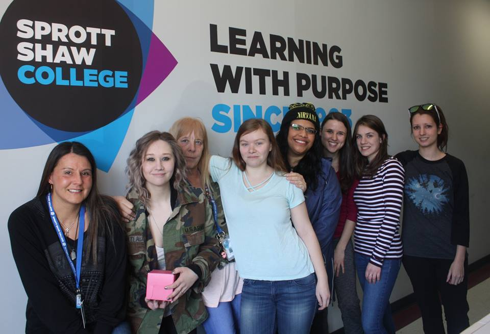 sprott shaw college nanaimo campus students