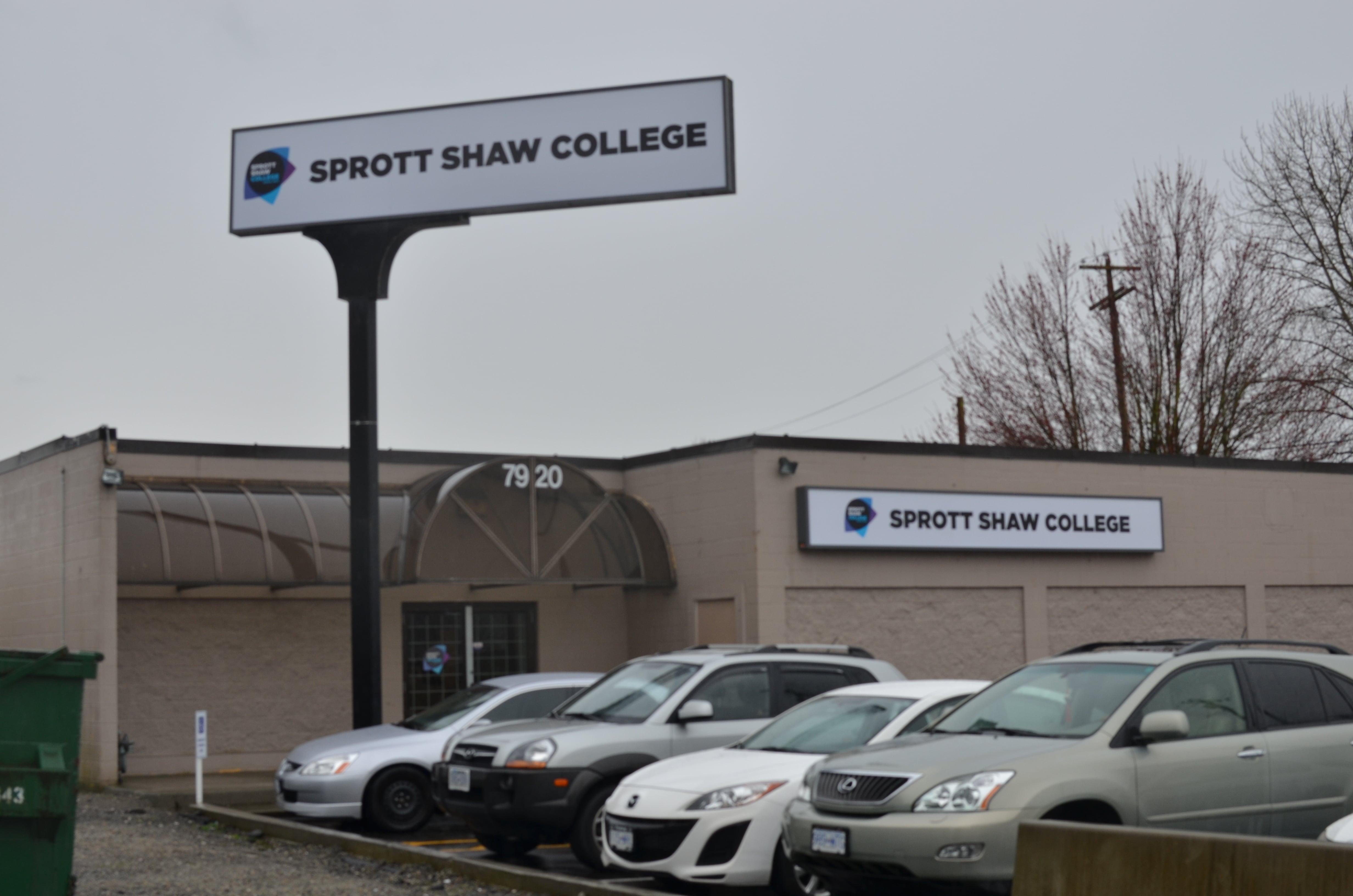 sprott shaw college richmond campus students