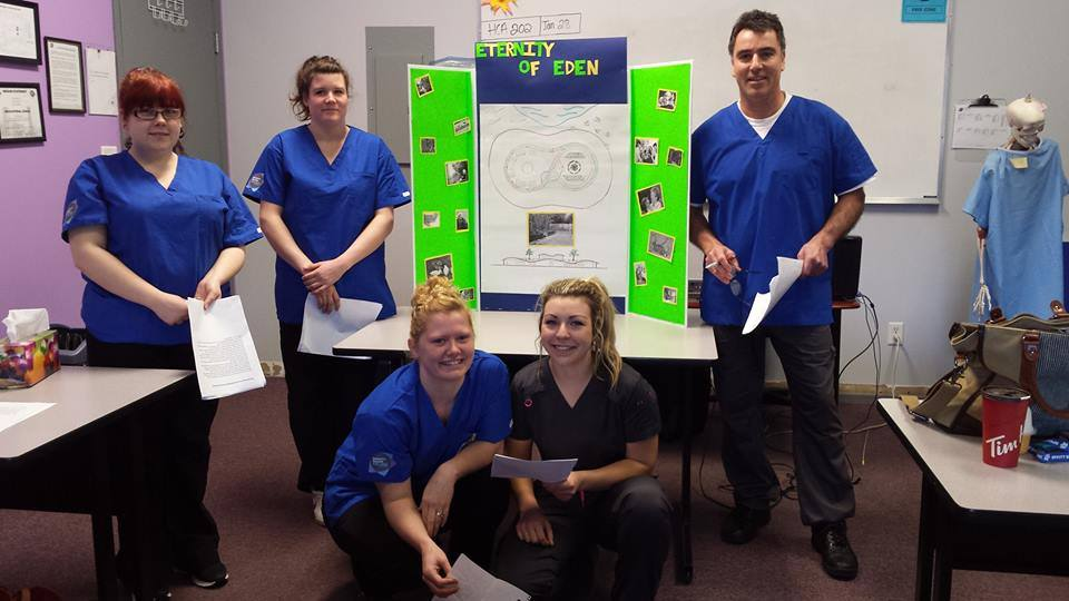 sprott shaw college nanaimo campus health care assistant students