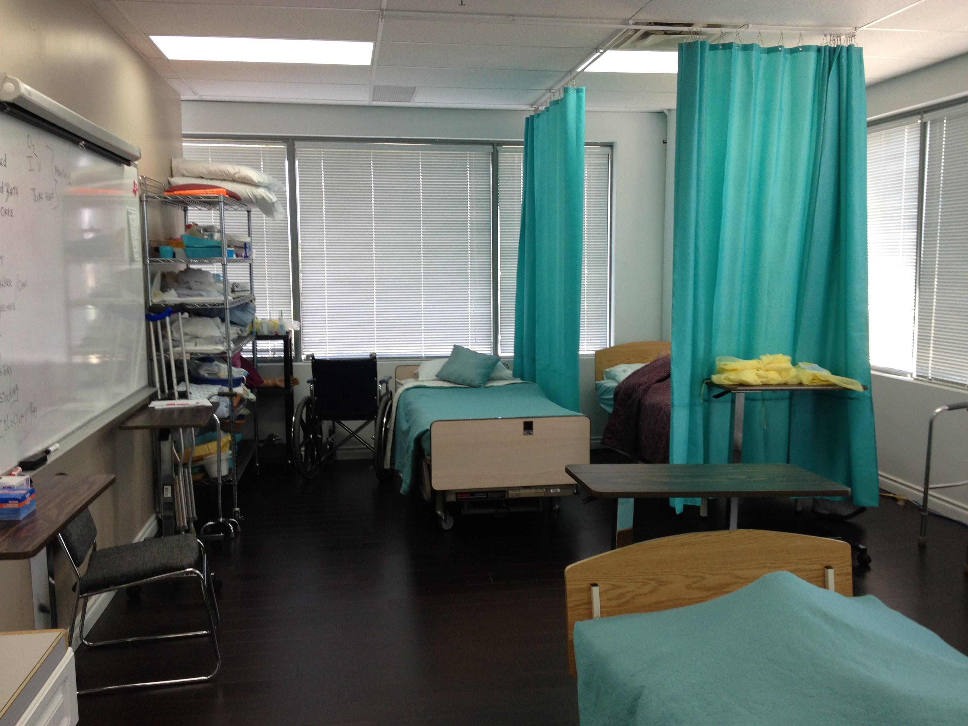 sprott shaw college maple ridge campus practical nursing lab