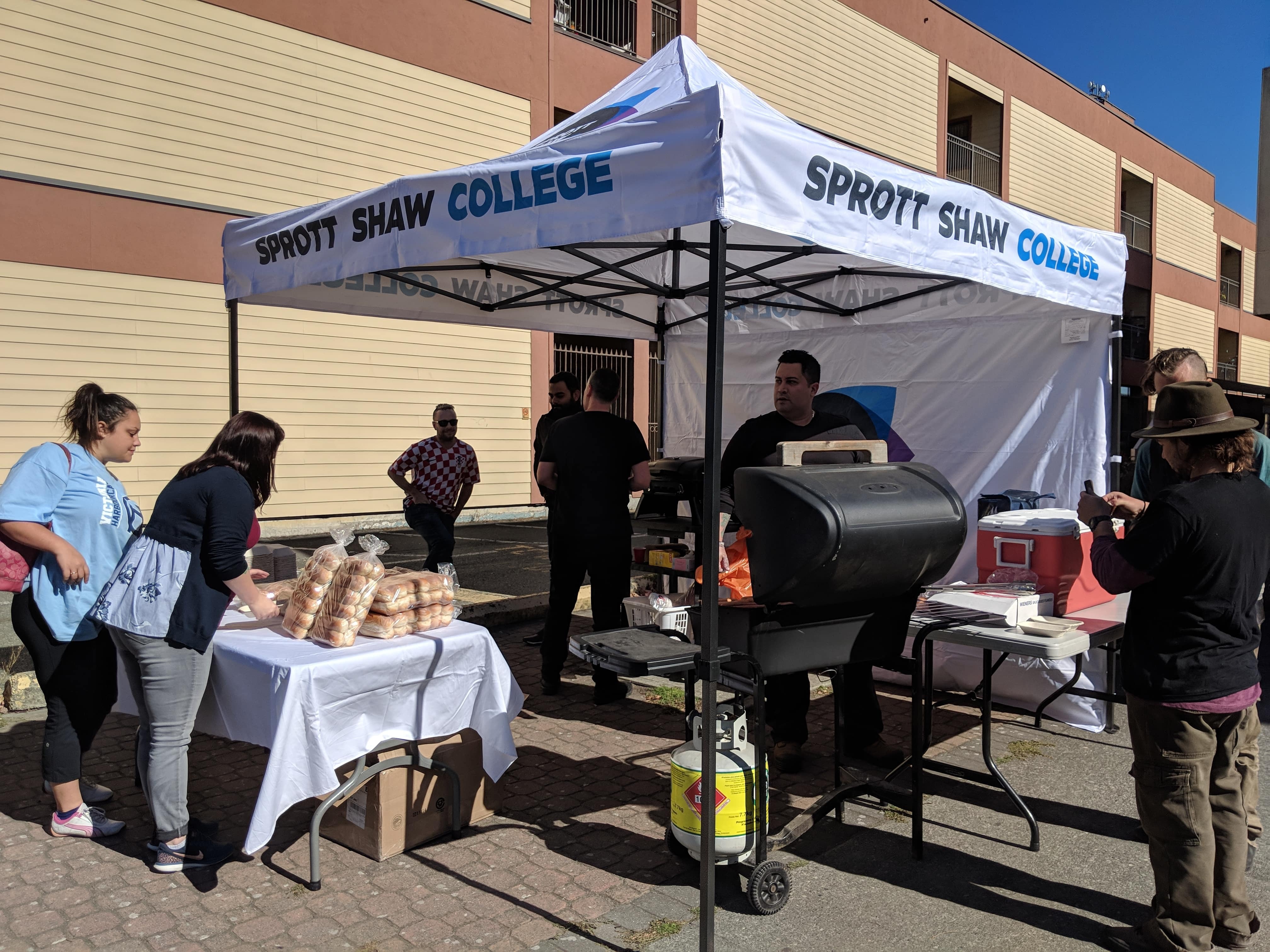 sprott shaw college victoria campus students