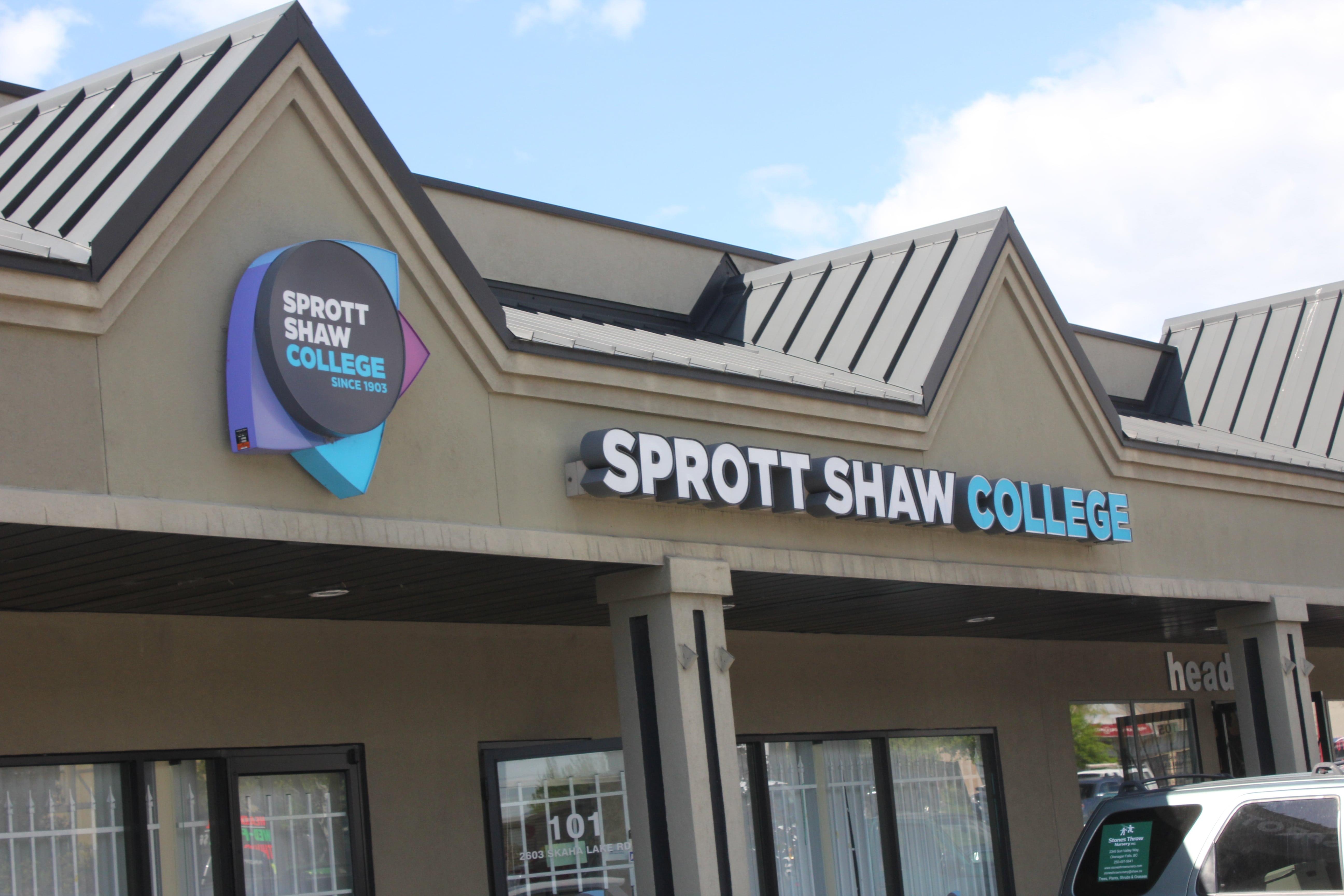 sprott shaw college penticton campus