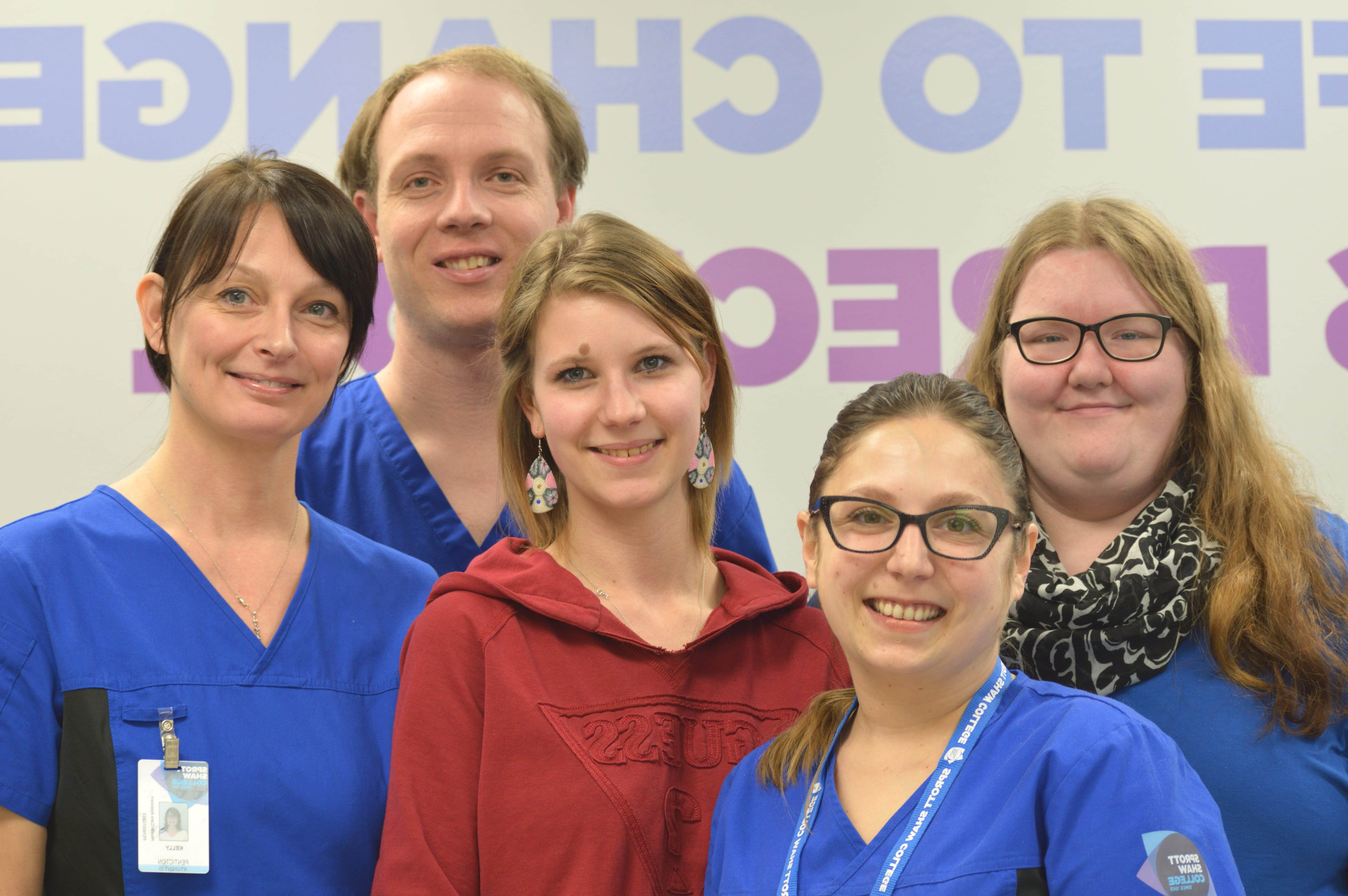 sprott shaw college penticton campus students health care assistant