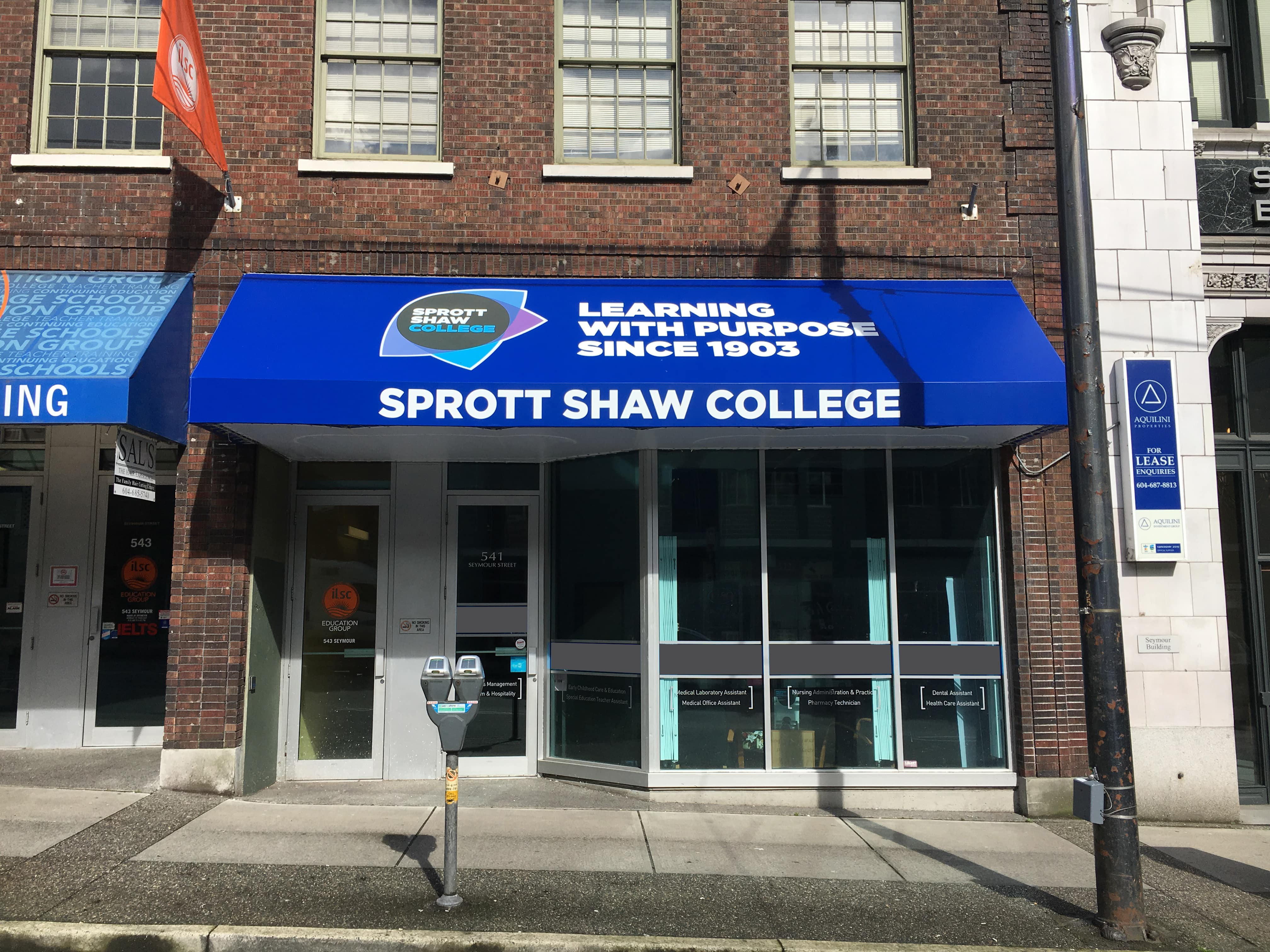 sprott shaw college vancouver seymour campus