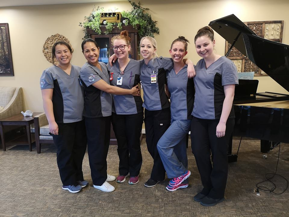 sprott shaw college kelowna campus practical nursing students