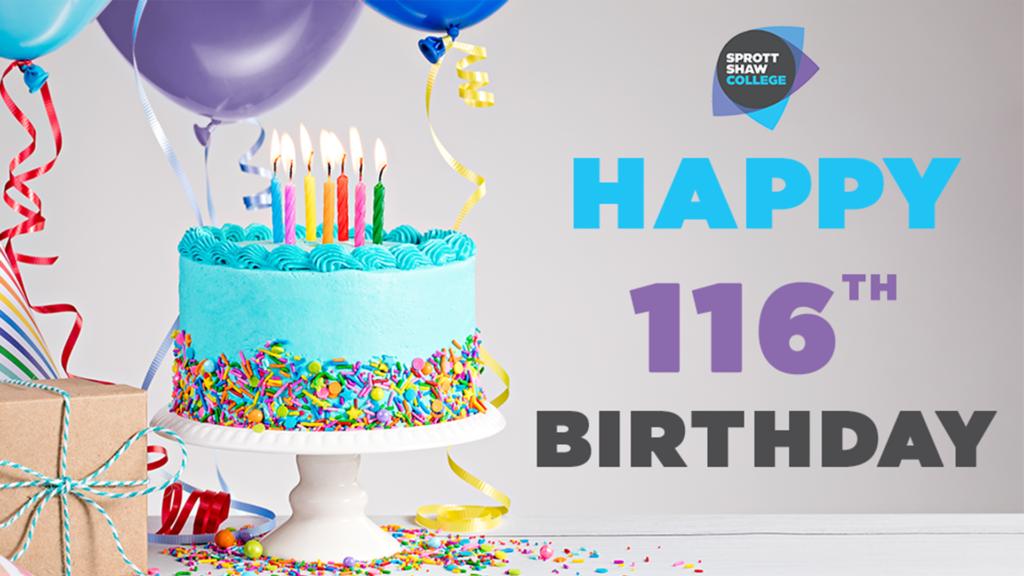birthday, sprott shaw birthday, birthday event, birthday celebration