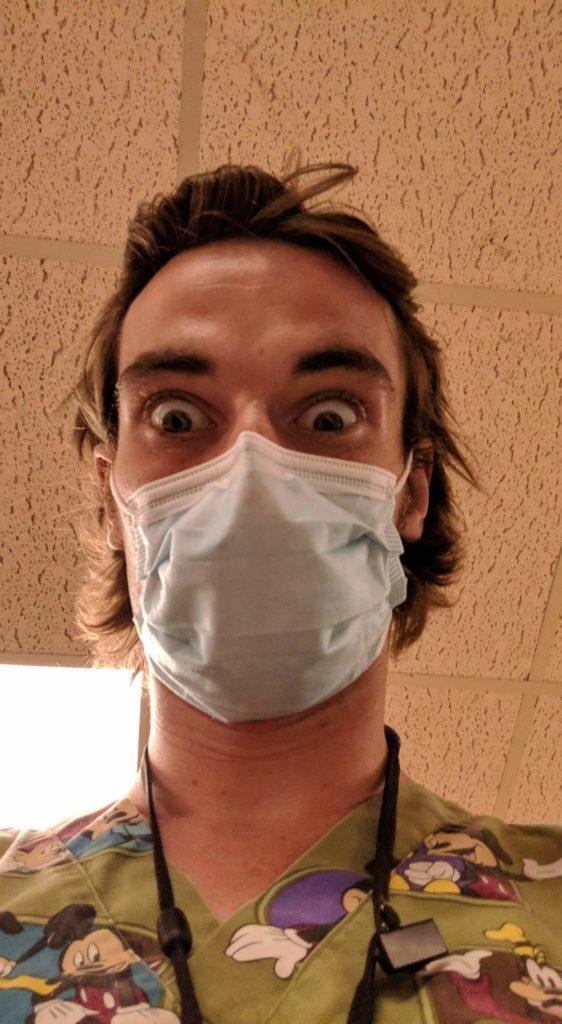 health care assistant ward aide sprott shaw hero at kelowna general hospital noah