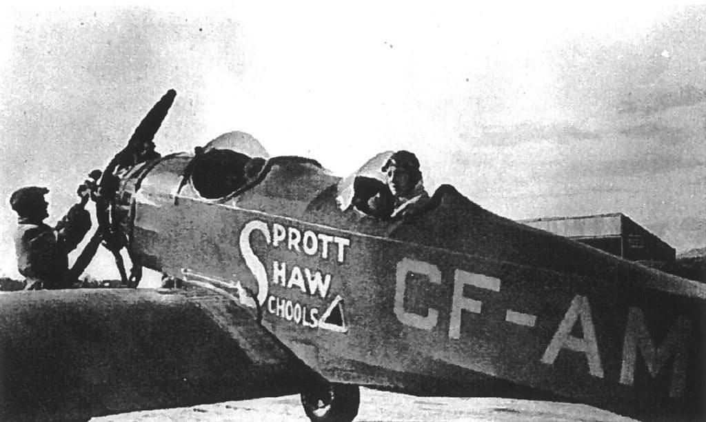 sprott shaw aviation school flight training history
